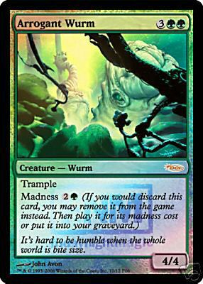 Arrogant Wurm - Foil FNM 2006