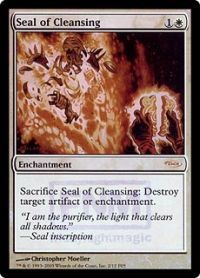 Seal of Cleansing - Foil FNM 2005