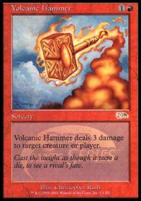 Volcanic Hammer - Foil - JSS Promo