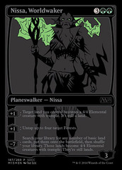 Nissa, Worldwaker - SDCC 2014 Exclusive Promo