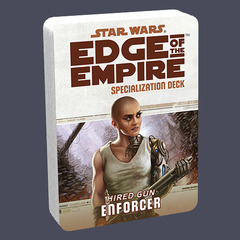 Star Wars: Edge of the Empire: Enforcer Specialization Deck