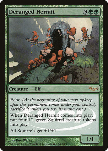 Deranged Hermit - Foil DCI Judge Promo
