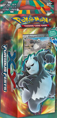 Pokemon XY3 Furious Fists Theme Deck:
