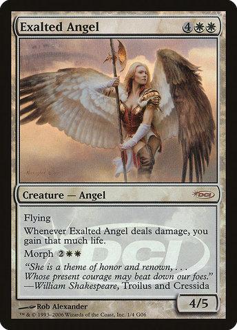 Exalted Angel - Foil DCI Judge Promo