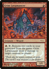 Grim Lavamancer - Foil DCI Judge Promo