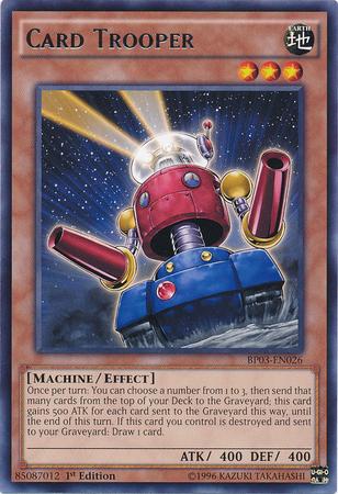 Card Trooper - BP03-EN026 - Rare - 1st Edition