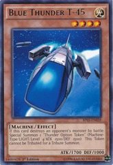 Blue Thunder T-45 - BP03-EN039 - Rare - 1st Edition on Channel Fireball
