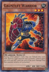 Gauntlet Warrior - BP03-EN070 - Common - 1st Edition