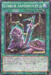 Cursed Armaments - BP03-EN169 - Shatterfoil - 1st Edition