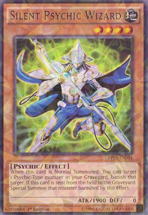 Silent Psychic Wizard - BP03-EN084 - Shatterfoil - 1st Edition