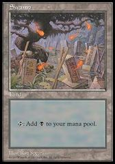 Swamp - APAC basic land Set 2 Japan (Blue Pack)