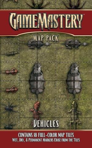 Pathfinder RPG (GameMastery Map Pack) - Vehicles