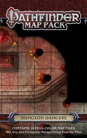 Pathfinder RPG (Map Pack) - Dungeon Dangers