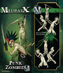 Punk Zombies (3 Pack) (2E)