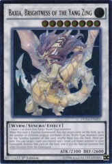 Baxia, Brightness of the Yang Zing - DUEA-EN051 - Ultimate Rare - 1st Edition on Channel Fireball