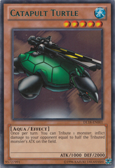Catapult Turtle - Green - DL18-EN001 - Rare - Unlimited Edition