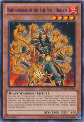 Brotherhood of the Fire Fist - Dragon - Purple - DL18-EN008 - Rare - Unlimited Edition
