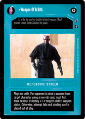 Weapon Of A Sith