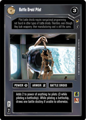 Battle Droid Pilot - Common