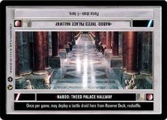 Naboo: Theed Palace Hallway - Darkside