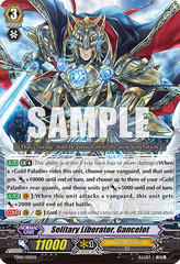 Solitary Liberator, Gancelot - TD08/001EN - TD - Holo on Channel Fireball