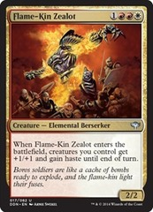Flame-Kin Zealot on Channel Fireball