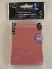 Max Protection Alpha Pink Small Sleeves