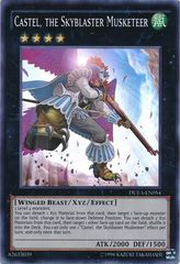 Castel, the Skyblaster Musketeer - DUEA-EN054 - Super Rare - Unlimited Edition