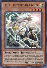 Felis, Lightsworn Archer - DUEA-EN095 - Ultra Rare - Unlimited Edition
