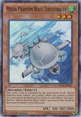 Mecha Phantom Beast Turtletracer - MP14-EN001 - Super Rare - 1st Edition
