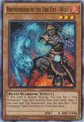 Brotherhood of the Fire Fist - Wolf - MP14-EN012 - Common - 1st Edition