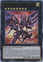 Number 107: Galaxy-Eyes Tachyon Dragon - MP14-EN024 - Ultra Rare - 1st Edition
