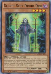 Secret Sect Druid Dru - MP14-EN133 - Common - 1st Edition