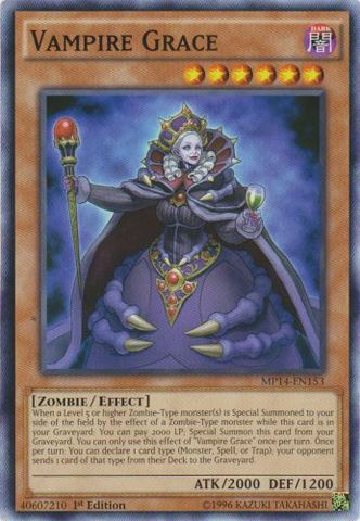 Vampire Grace - MP14-EN153 - Common - 1st Edition