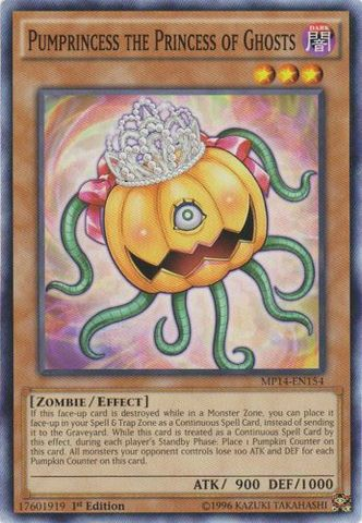 Pumprincess the Princess of Ghosts - MP14-EN154 - Common - 1st Edition