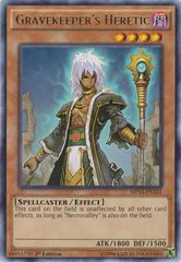 Gravekeeper's Heretic - MP14-EN241 - Rare - 1st Edition