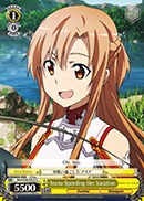 Asuna Spending Her Vacation - SAO/S26-015 - C