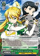 Virtual and Reality Leafa & Suguha - SAO/S26-022 - RR
