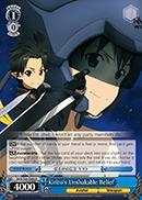 Kirito's Unshakable Belief - SAO/S26-066 - R