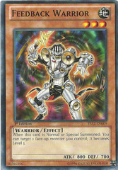 Feedback Warrior - YS12-EN009 - Common - Unlimited Edition