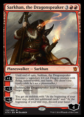 Sarkhan, the Dragonspeaker - Foil