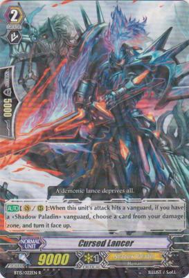Cursed Lancer - BT15/022EN - R
