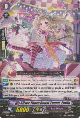 Silver Thorn Beast Tamer, Emile - BT15/081EN - C