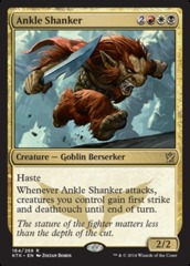 Ankle Shanker - Foil on Channel Fireball