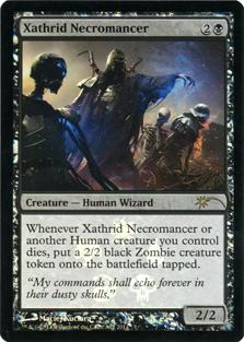 Xathrid Necromancer - Foil - Wal-Mart Promo