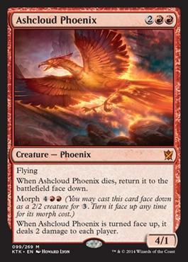 Ashcloud Phoenix - Foil