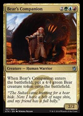 Bears Companion - Foil