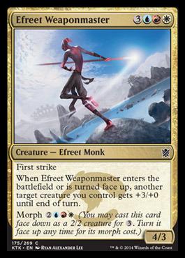 Efreet Weaponmaster - Foil