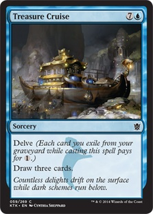 Treasure Cruise - Foil