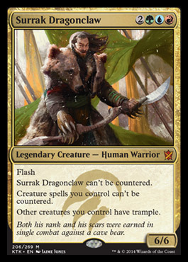 Surrak Dragonclaw - Foil